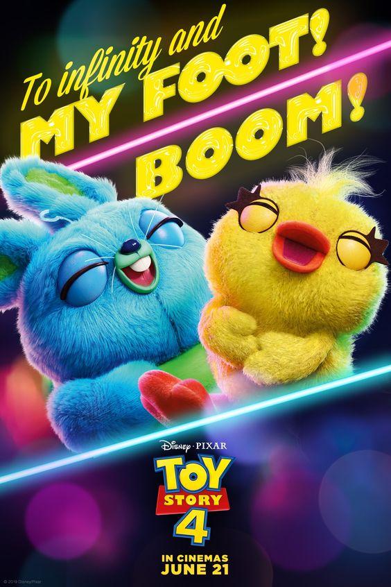 Let's kick it! There's a new duo in town in Toy Story 4, June 21