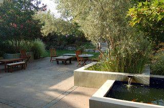 Huettl - contemporary - patio - san francisco - by Huettl Landscape Architecture