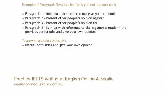 how to write an ielts task opinion essay using an argument led  how to write an ielts task 2 opinion essay using an argument led approach ielts preparation academic writing task 1 opinion essay academic