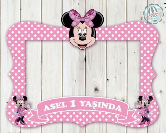 Minnie Maus Mickey-Mouse Daisy Duck Frame / Foto von DreamPaperCo