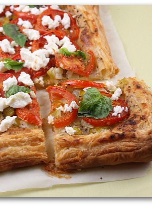 Goats cheese tart, Cheese tarts and Goat cheese on Pinterest