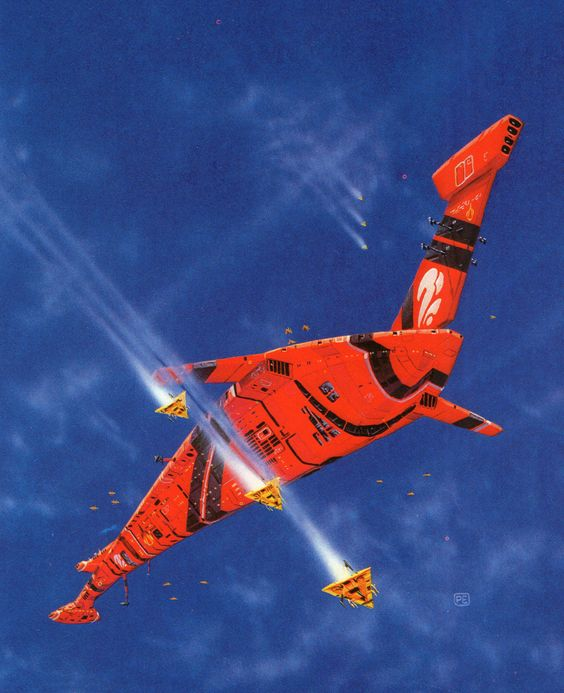 Sci-fi Art by Peter Elson