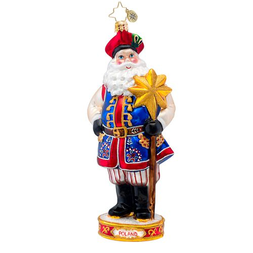 "Christopher Radko Ornament - ""Family Heritage"""