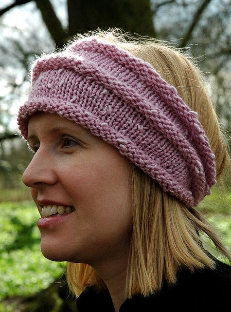Knitted Head Wrap Pattern Free : Ravelry, Wraps and Patterns on Pinterest