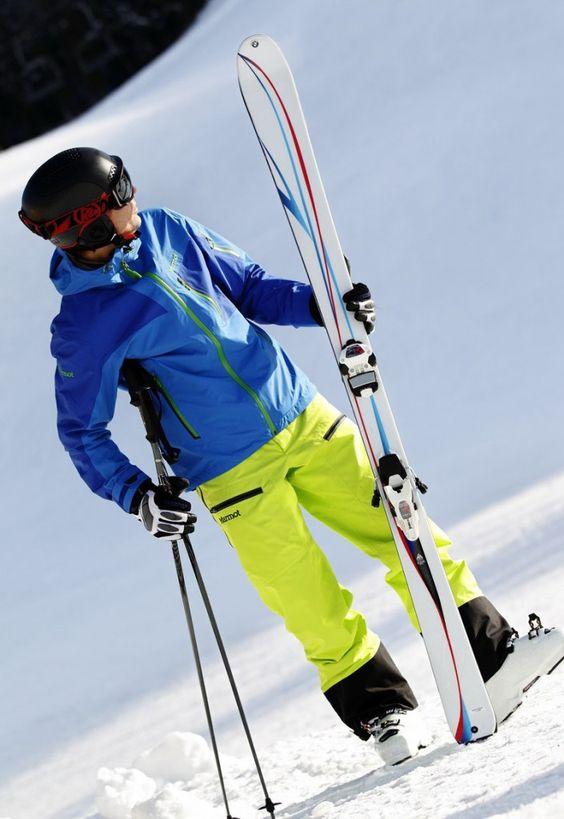 BMW M x K2 Skis