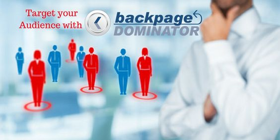 Target audiences with BackPageDominator