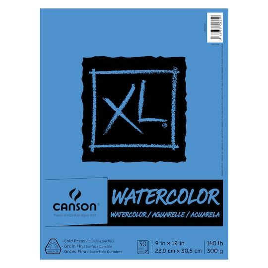 Canson Xl Watercolor Pad Art Pad Sewing Crafts Watercolor Paper