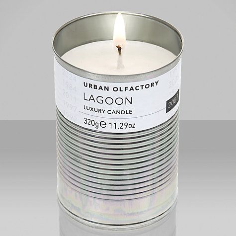 Buy Urban Olfactory Lagoon 2007 Scented Candle Online at johnlewis.com