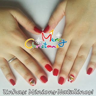 Let's Get Crafty! - Unhas: Minions Natalinos!