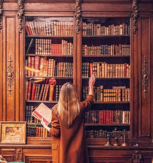 Those book shelves are seriously gorgeous. TheFullerView