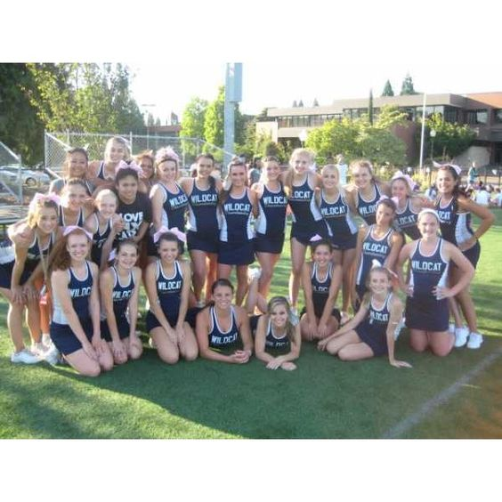 Wilsonville High School Cheerleading - (Wilsonville, OR) - powered by... ❤ liked on Polyvore featuring cheer