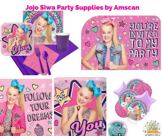 Jojo Siwa Party Supplies by Amscan