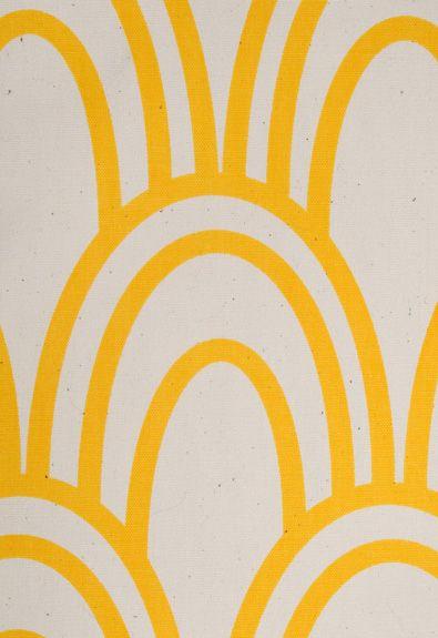 Scallop Fabric in Sun by Studio Bon