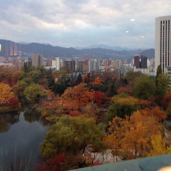 中島公園 紅葉 by azazzaza