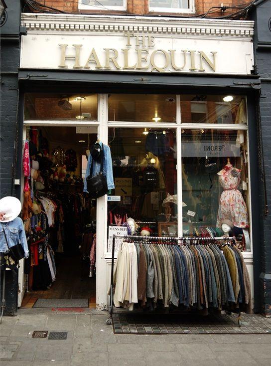 Harlequin, Dublin, Ireland. Best Vintage Shop!