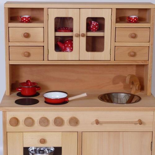 Kinderkuche Hansel In 2020 Kinder Holz Kuche Spielkuche Holz Kinderkuche Holz