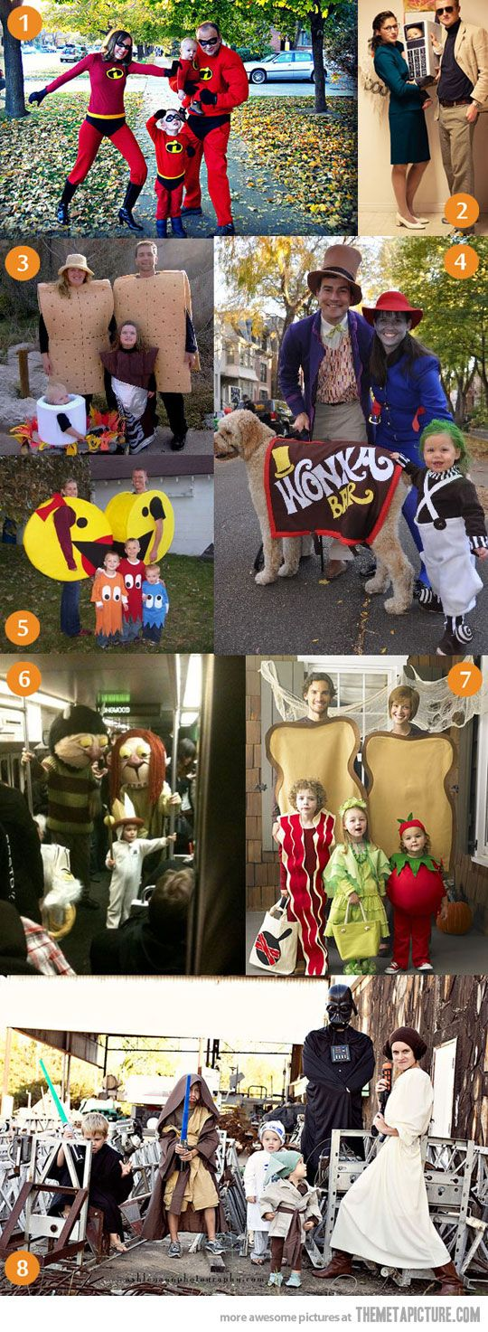 Awesome Family Halloween Costumes!