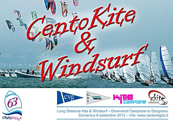 Cento Kite & WIndSurf Campione del Garda: Long Distance Kite #NewsGC