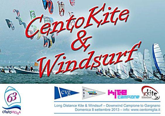 Cento Kite & WIndSurf Campione del Garda: Long Distance Kite #NewsGC