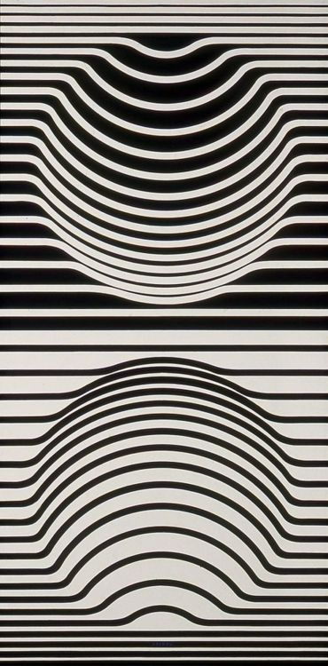 Line Art Illusion : Victor vasarely inspiration pinterest