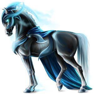 Shining knight, Pferd Friese Rappe #15934426 - Howrse