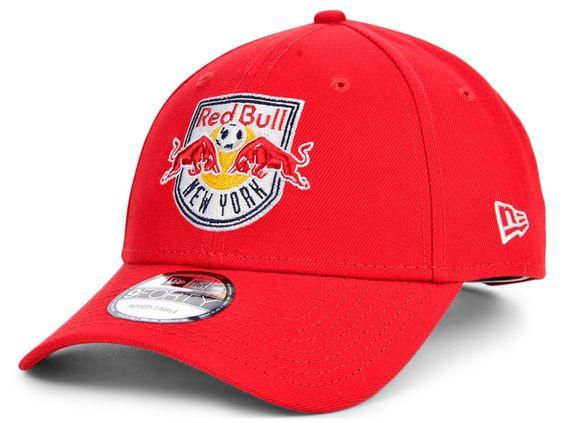 New Era New York Red Bulls Core 9forty Cap Red In 2021 Red Bull Hats New York Red Bulls Red