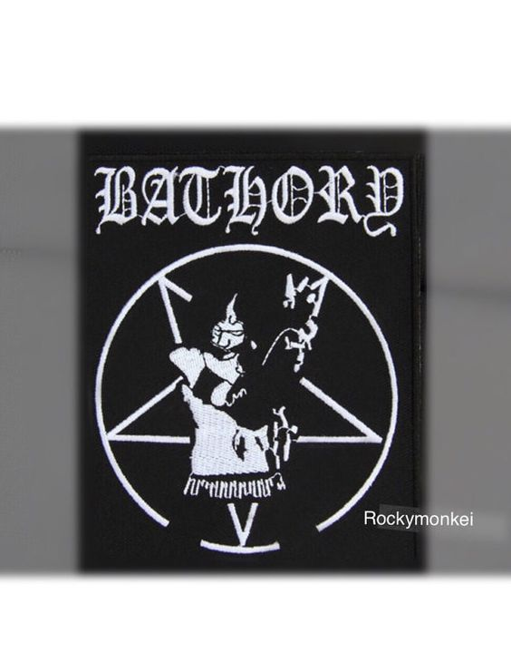 Check out this item in my Etsy shop https://www.etsy.com/hk-en/listing/275805750/bathory-band-patch-black-metal-band