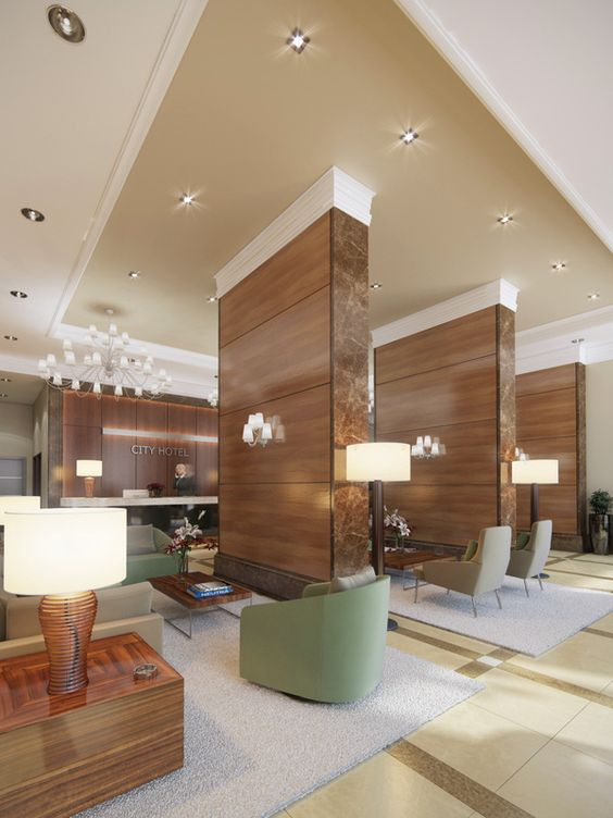 Hotel lobby lobbies and hotels on pinterest for Hotel lobby design trends