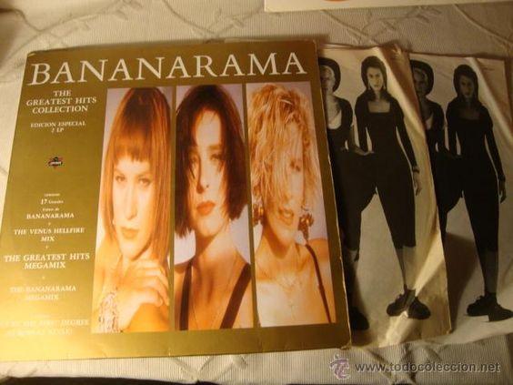 BANANARAMA - THE GREATEST HITS COLLECTION (EDICION ESPECIAL) CON ENCARTES LETRAS DE CANCIONES, LOT24