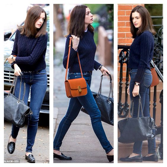 Anne Hathaway Outfits