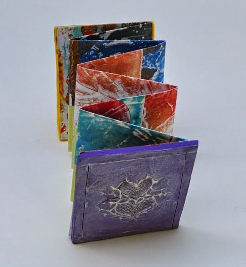 Art with Kids: Polymer Clay Book Covers for Handmade Accordion Book