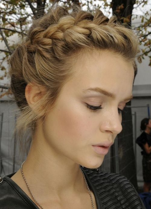 Awesome Braids For Short Hair Braids And Short Hairstyles On Pinterest Short Hairstyles Gunalazisus