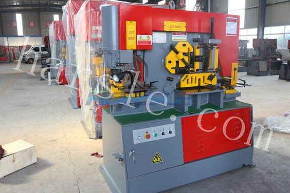 Dear friend : This is our Q35Y series hydraulic ironworker machine. This machine type is Q35Y-16 . And the punching pressure is 60T, and the punching hole thickness is 16 mm. Querido amigo: Esta es nuestra q35y hidraulico de la serie de la maquina de herrero.Este tipo de máquina es q35y-16.Y la perforacion de presión es 60, y la perforacion agujero es de 16 mm de espesor. If you have the interest, please contact me. My mail :ivy@harsle.com  My skype :ivyzhang1991826  My…