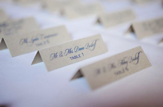 escort cards by KRUSHgraphics (www.krushgraphics.com)