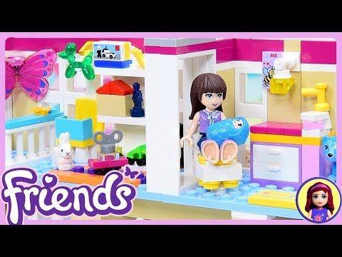 Lego Friends Custom Baby Nursery Play Room For Triplets Diy Build Youtube Diy Nursery Lego Friends Minimalist Kids Room