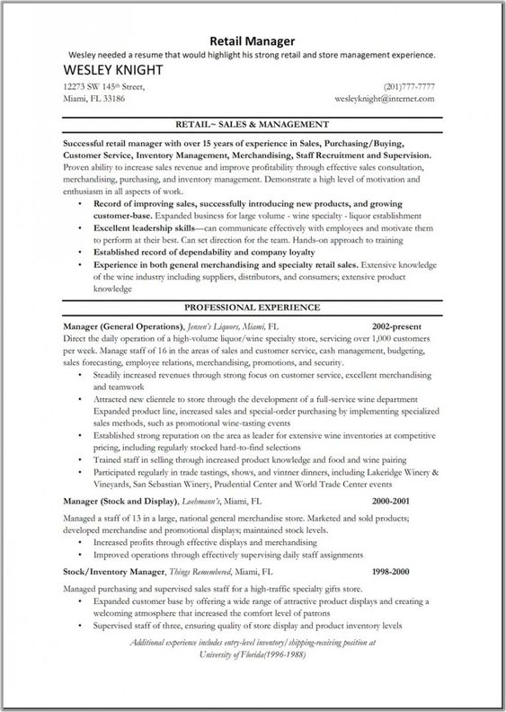 Merchandising Resume Examples Retail Merchandiser Resume Sample Visual  Merchandising Resume  Visual Merchandising Resume