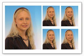 Passfotos bei der Parfümerie Nöth in Olching