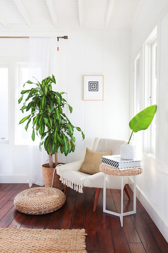 Even the greenery reflects their new lifestyle. Swap out those fire escape plants for some full-grown palms!