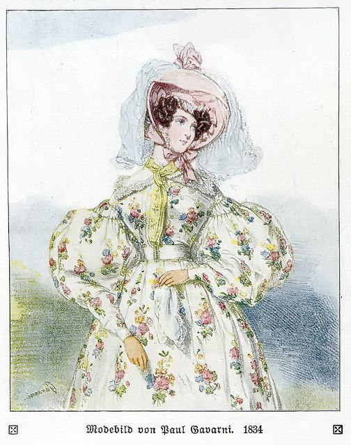 Fashion plate, 1830s | Flickr: Intercambio de fotos
