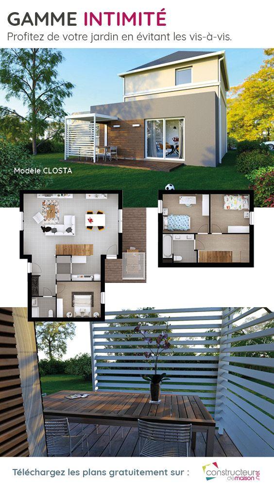 Maison Closta Plan Gratuit Plan Maison Maison Maison Style