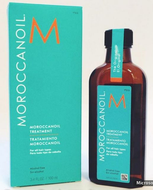 Whitney's favorite product is the Moroccan Oil Treatment, a unique serum with instant absorption into hair to create a beautiful shine and long term conditioning.