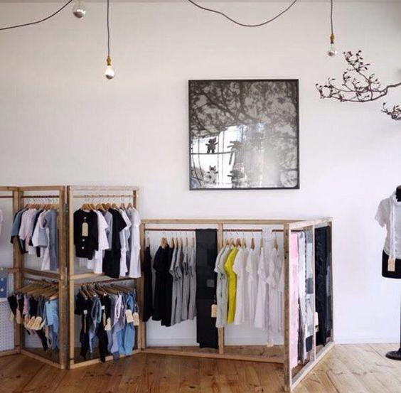 Kleiderständer Design Ideen selber bauen