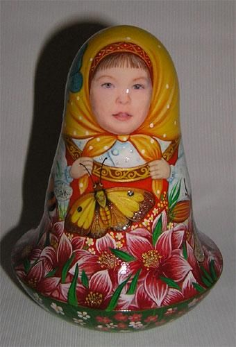 'Summer Flowers' Chime Doll