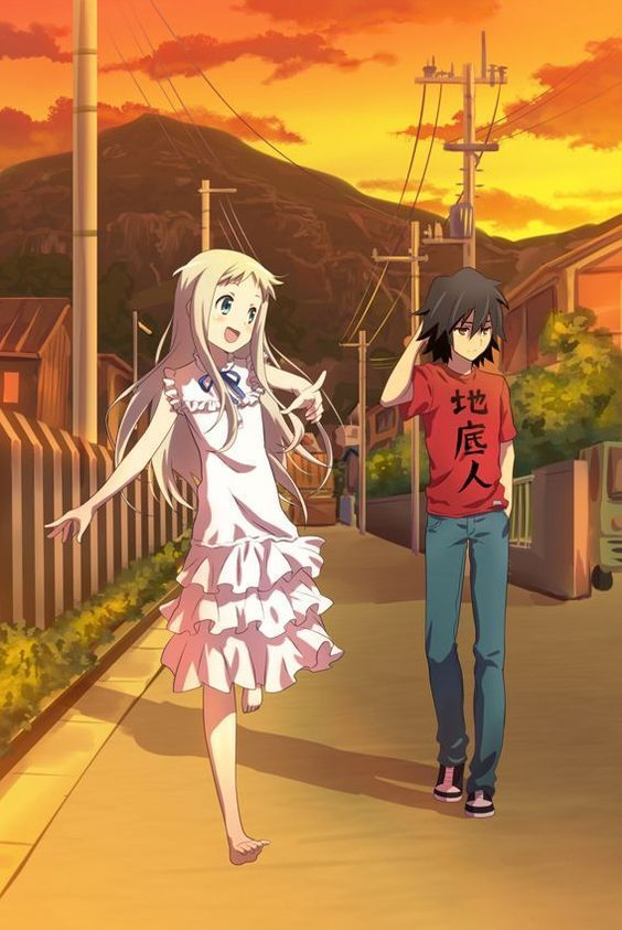 Menma Anohana By Yeyi Flwr On Anime Bebe Anime Movies Anohana