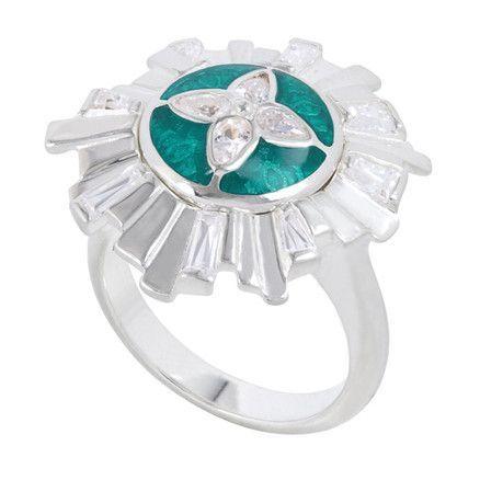 KR043 - Art Deco Ring