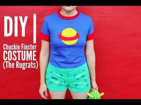 Wanna learn how to make your very own Chuckie from The Rugrats costume? Just click play and learn.