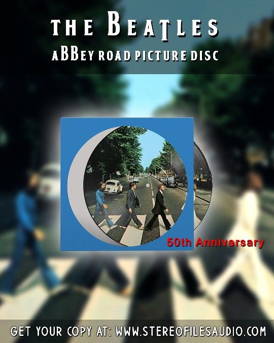 50th Anniversary Edition Picture Disc Lp Sourced Ffrom Original 8