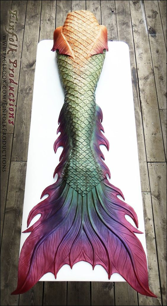 Full Silicone Mermaid Tail by Finfolk Productions