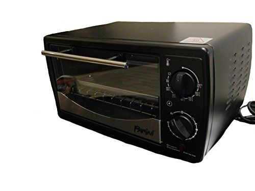 Parini Appliances Toaster Oven Matte Black Review Toaster Oven