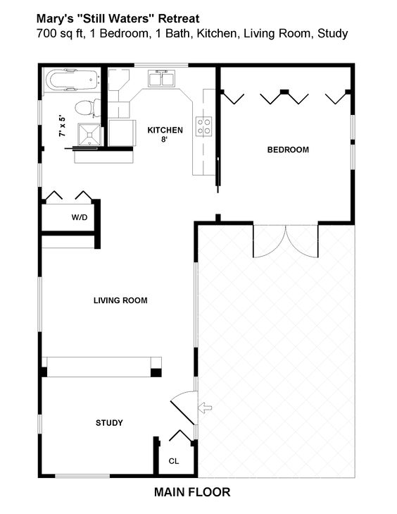 Floor Plan Guest House What If You Modify This By Adding